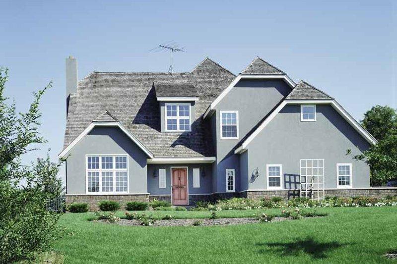 Colonial Exterior - Front Elevation Plan #320-741 - Houseplans.com