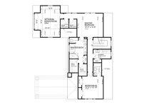 Bungalow Floor Plan - Upper Floor Plan Plan #30-339