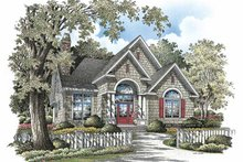 Dream House Plan - Traditional Exterior - Front Elevation Plan #929-836