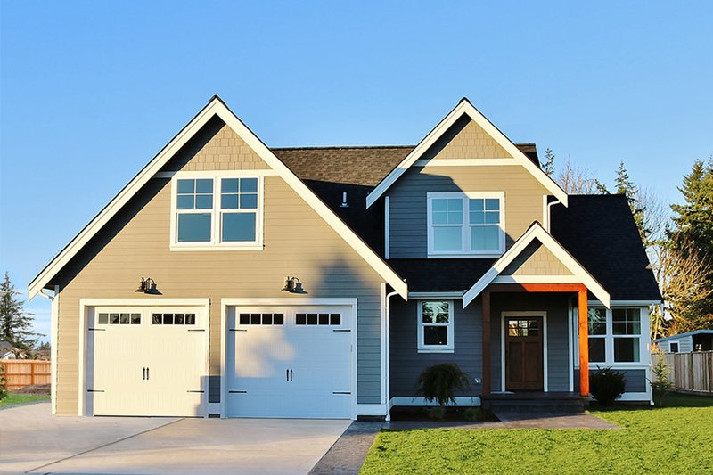 House Design - Ranch Exterior - Front Elevation Plan #1070-28
