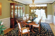House Plan Design - Mediterranean Interior - Dining Room Plan #927-141