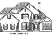 European Style House Plan - 5 Beds 3 Baths 2585 Sq/Ft Plan #17-646 Exterior - Other Elevation