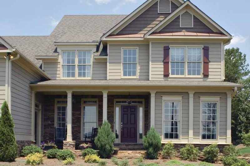 Country Exterior - Front Elevation Plan #927-164 - Houseplans.com
