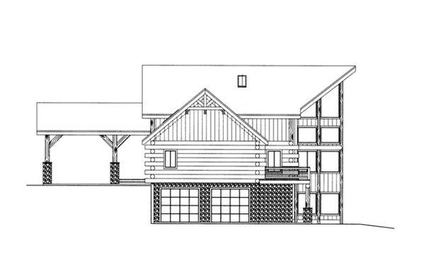 Home Plan - Log Floor Plan - Other Floor Plan #117-823