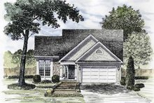 Home Plan - Traditional Exterior - Front Elevation Plan #316-164