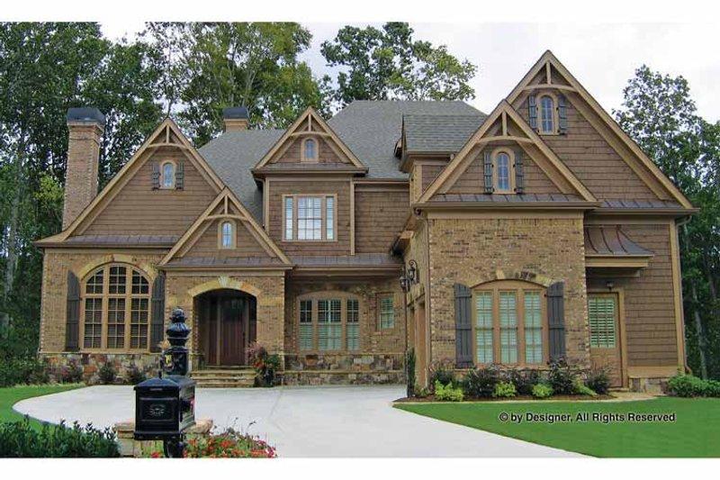 Craftsman Exterior - Front Elevation Plan #54-345 - Houseplans.com