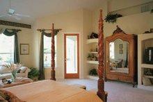 Mediterranean Interior - Master Bedroom Plan #417-556