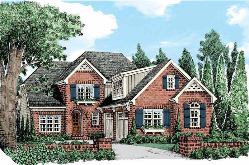Home Plan - European Exterior - Front Elevation Plan #927-438