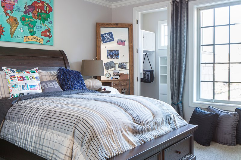 European Interior - Bedroom Plan #48-650 - Houseplans.com