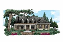 Home Plan - Colonial Exterior - Front Elevation Plan #927-528