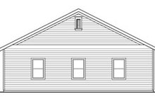 Dream House Plan - Traditional Exterior - Other Elevation Plan #124-791