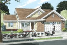 Traditional Exterior - Front Elevation Plan #513-2053