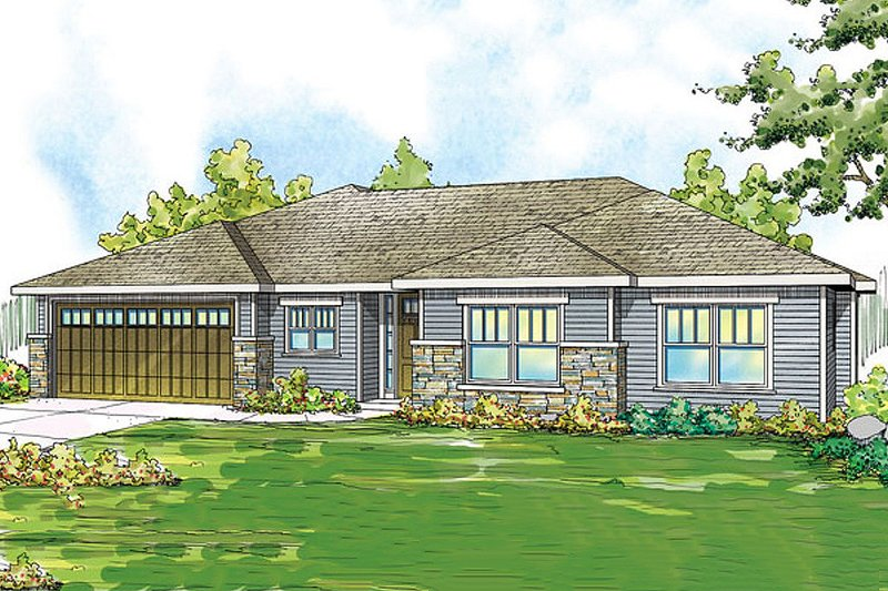 House Plan Design - Traditional Exterior - Front Elevation Plan #124-869