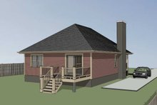 Home Plan - Traditional Exterior - Other Elevation Plan #79-160