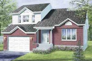 Exterior - Front Elevation Plan #25-3014