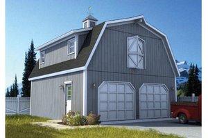 Farmhouse Exterior - Front Elevation Plan #312-743