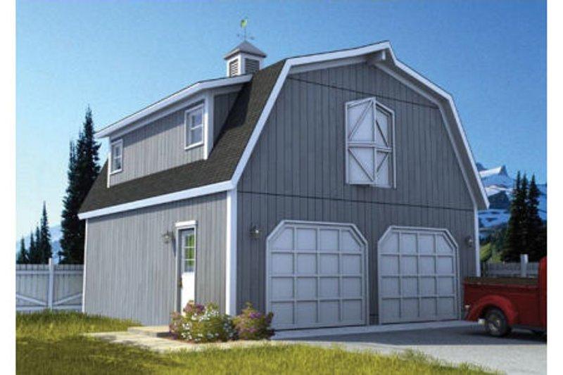 Farmhouse Style House Plan - 0 Beds 0 Baths 521 Sq/Ft Plan #312-743