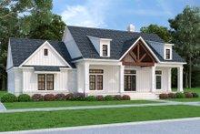 Dream House Plan - Farmhouse Exterior - Front Elevation Plan #45-584