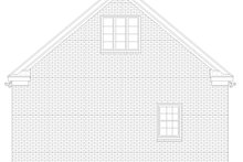 Dream House Plan - Country Exterior - Rear Elevation Plan #932-369
