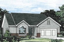Traditional Exterior - Front Elevation Plan #20-1244