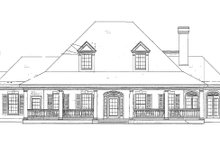 Dream House Plan - Southern Exterior - Other Elevation Plan #410-146