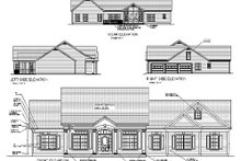 Home Plan - Traditional Exterior - Other Elevation Plan #56-164