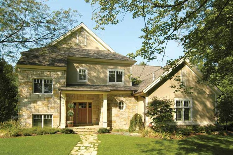 House Plan Design - Traditional Exterior - Front Elevation Plan #928-107