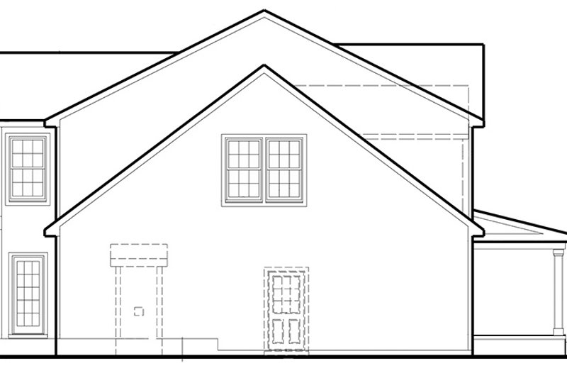 Colonial Exterior - Other Elevation Plan #1053-67 - Houseplans.com