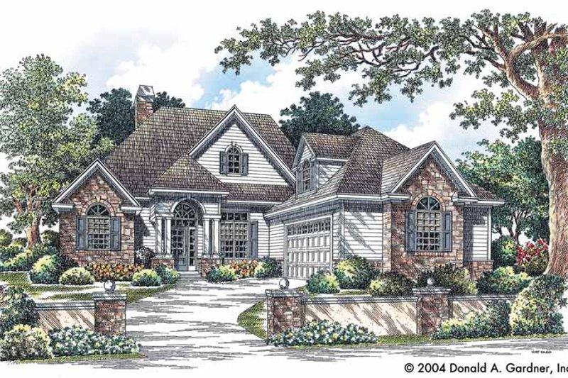 Dream House Plan - Craftsman Exterior - Front Elevation Plan #929-732