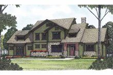 Craftsman Exterior - Front Elevation Plan #453-558
