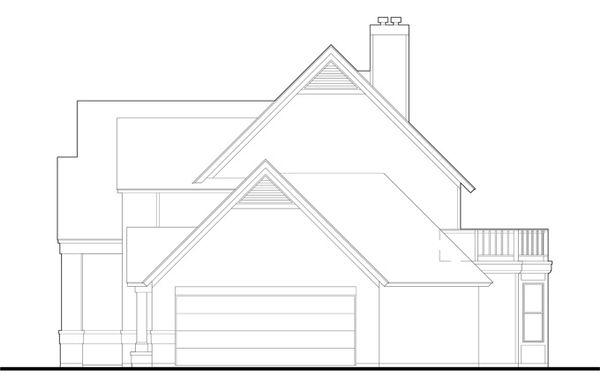 Country Floor Plan - Other Floor Plan Plan #120-201