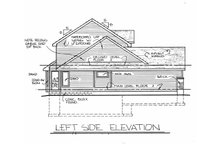 Home Plan Design - Traditional Exterior - Other Elevation Plan #20-2015