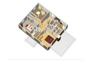 Colonial Style House Plan - 3 Beds 3 Baths 2711 Sq/Ft Plan #25-4679 Floor Plan - Upper Floor Plan