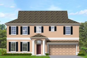 Architectural House Design - Traditional Exterior - Front Elevation Plan #1058-202
