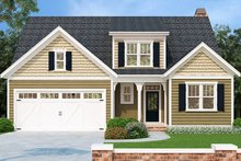 House Plan Design - European Exterior - Front Elevation Plan #927-965
