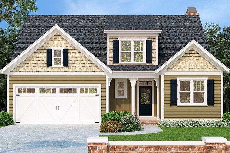 House Plan Design - European Exterior - Front Elevation Plan #927-965