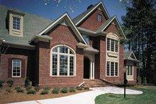 Home Plan Design - European Exterior - Front Elevation Plan #429-193