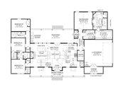 Farmhouse Style House Plan - 4 Beds 3.5 Baths 2534 Sq/Ft Plan #1074-39