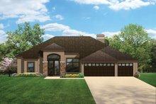 Architectural House Design - Craftsman Exterior - Front Elevation Plan #1058-47