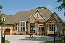 Architectural House Design - European Exterior - Front Elevation Plan #929-895