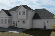 House Plan Design - Traditional Exterior - Rear Elevation Plan #1060-62