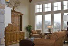 Craftsman Interior - Family Room Plan #928-230