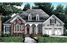 House Plan Design - Country Exterior - Front Elevation Plan #927-867