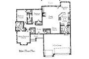 Craftsman Style House Plan - 3 Beds 2.5 Baths 1848 Sq/Ft Plan #921-19 Floor Plan - Main Floor Plan