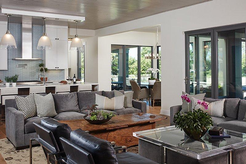 Contemporary Interior - Family Room Plan #928-291 - Houseplans.com