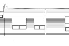 Traditional Exterior - Rear Elevation Plan #484-11