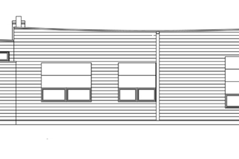 Traditional Exterior - Rear Elevation Plan #484-11 - Houseplans.com