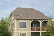 Traditional Style House Plan - 2 Beds 2.5 Baths 1911 Sq/Ft Plan #928-111 Exterior - Other Elevation