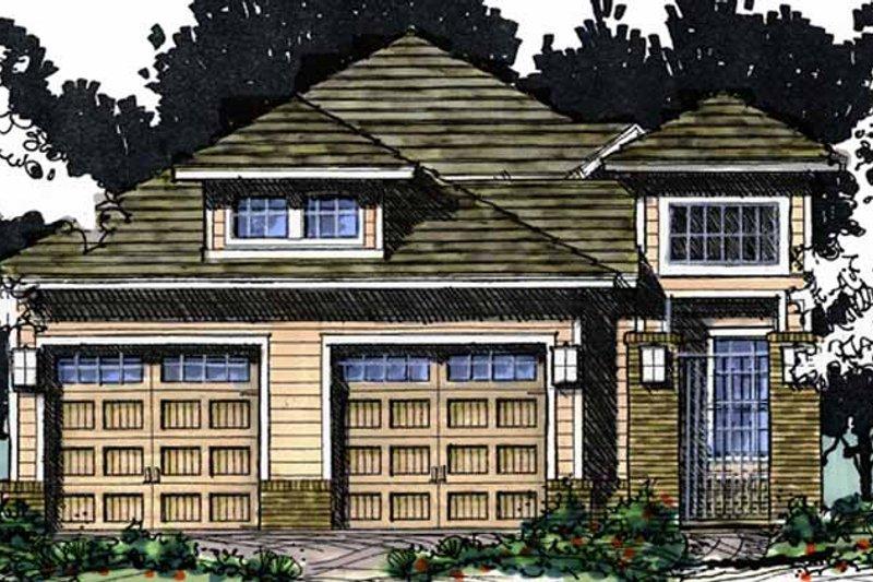 House Plan Design - European Exterior - Front Elevation Plan #1007-63