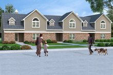 Dream House Plan - Traditional Exterior - Front Elevation Plan #45-452